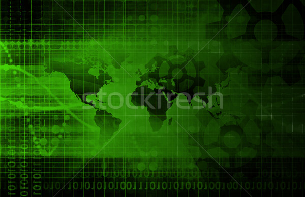 Industrial Background Stock photo © kentoh