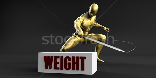 Reduce Weight Stock photo © kentoh