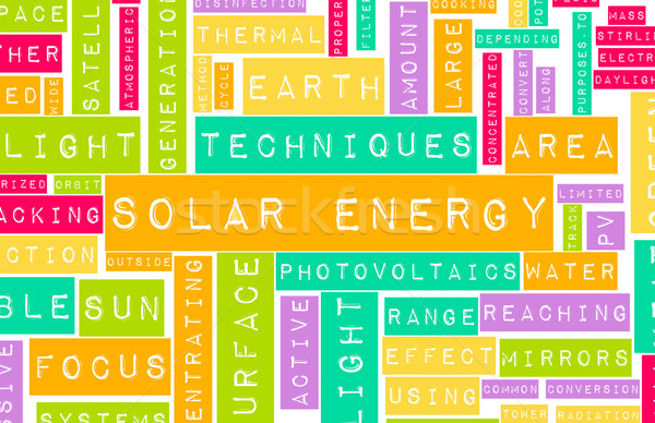 Solar Energy Stock photo © kentoh