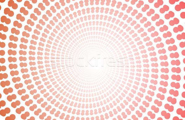 Zoom spirale espace de copie fond couleur Photo stock © kentoh