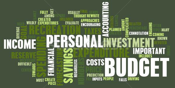 Personal Budget Stock photo © kentoh