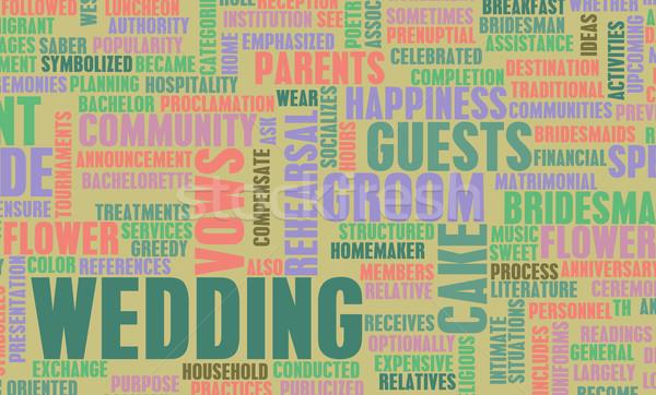 Stock photo: Wedding Planning