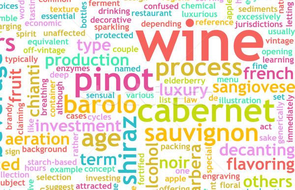 Wine Menu Stock photo © kentoh