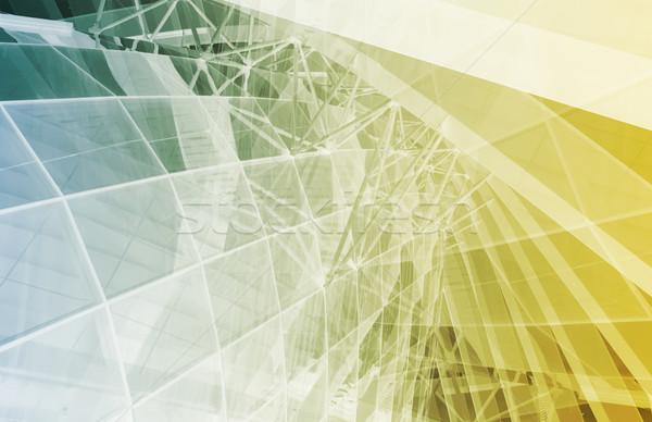Netzwerk Sicherheit Internet Daten Business abstrakten Stock foto © kentoh