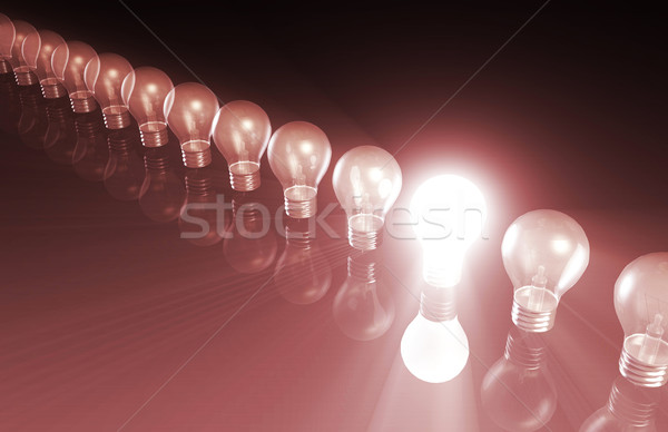 Industrie trends business internet abstract technologie Stockfoto © kentoh