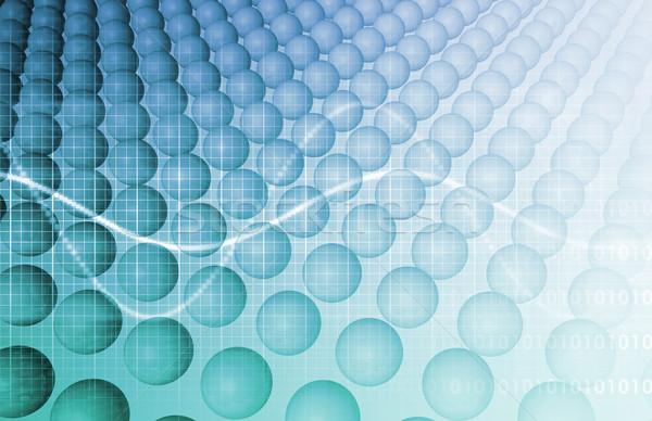 бизнеса генетика ДНК исследований строительство технологий Сток-фото © kentoh