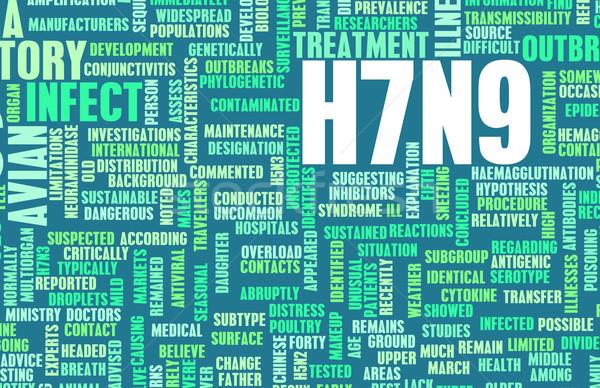 Stock photo: H7N9