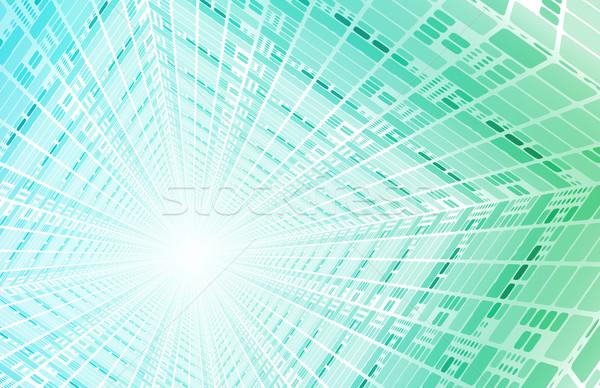 技術 トンネル 高速 デジタル データ 抽象的な ストックフォト © kentoh