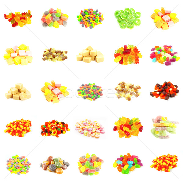 Seamless Sweets Pattern Stock photo © kentoh
