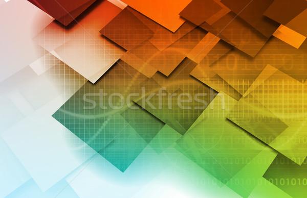 Cms technologii zawartość zarządzania komputera serwera Zdjęcia stock © kentoh
