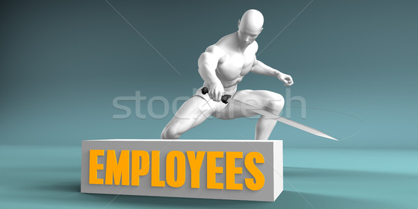 Cutting Employees Stock photo © kentoh
