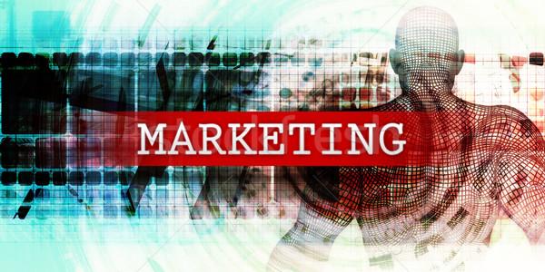 Marketing Sector Stock photo © kentoh