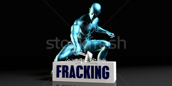 Get Rid of Fracking Stock photo © kentoh