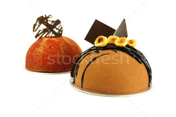 Fancy Chocolate Cake Stock photo © kentoh