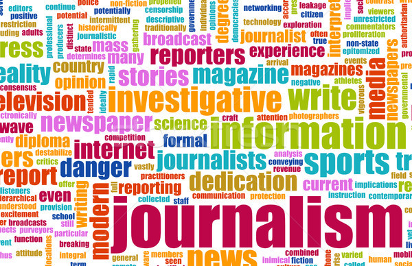 Journalism Stock photo © kentoh