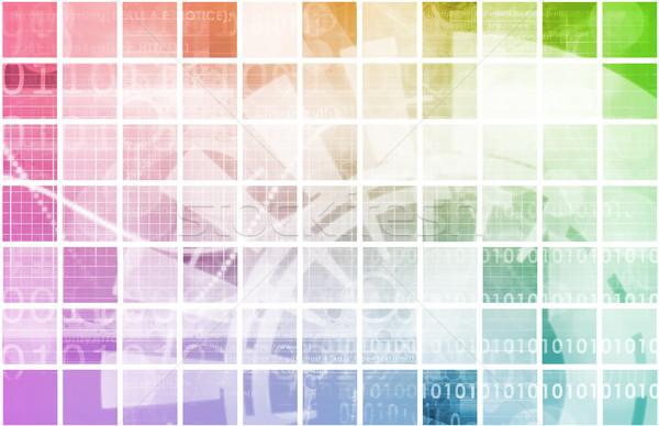 Tech Mechanical Engineering Science Stock photo © kentoh