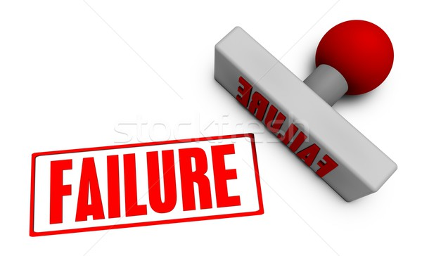 Failure Stamp Stock photo © kentoh