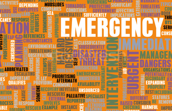Emergency Concept Stock photo © kentoh