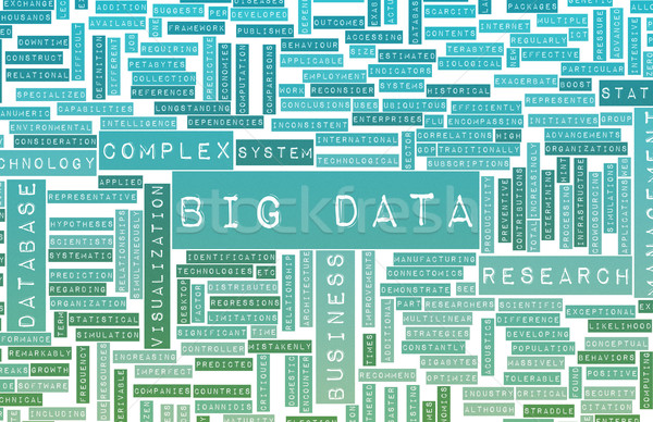 Big Data Stock photo © kentoh