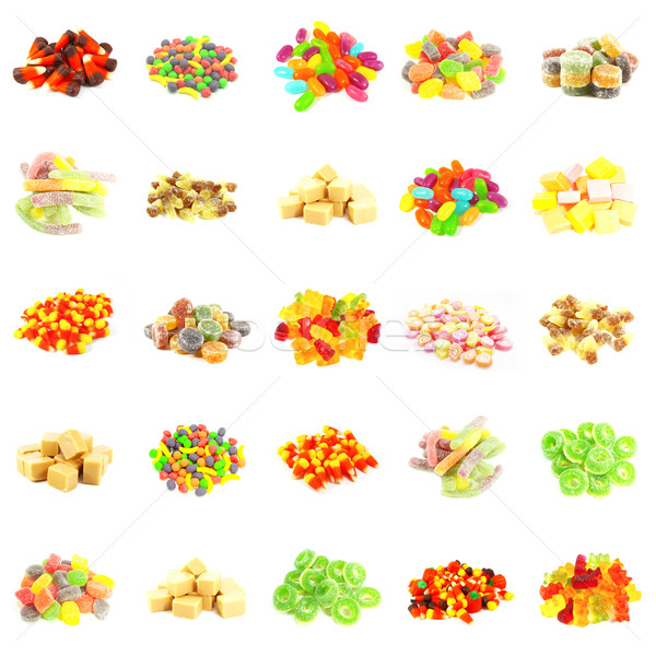 Repeating Candy Background Stock photo © kentoh