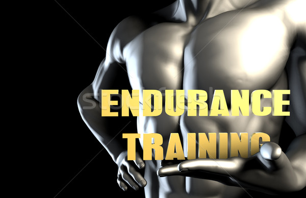 Endurance training Stock photo © kentoh