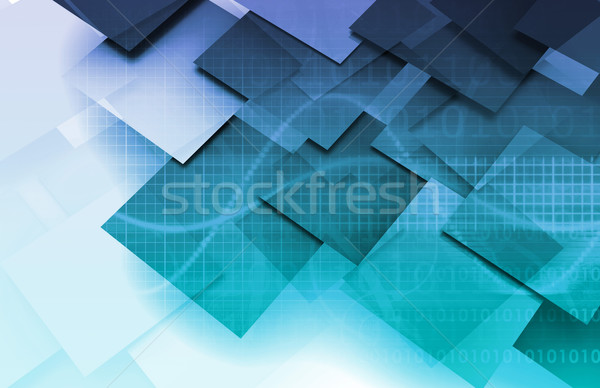 Modern Digital Economy Stock photo © kentoh