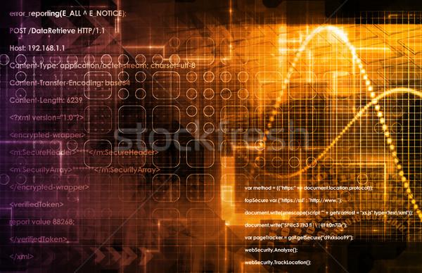 Internet Concept Background Stock photo © kentoh