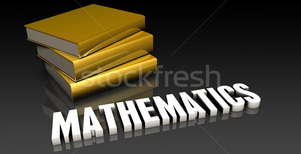 数学 教育 図書 図書 ウェブ ストックフォト © kentoh