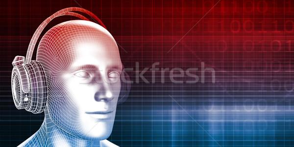 музыку опыт звук человека аннотация фон Сток-фото © kentoh