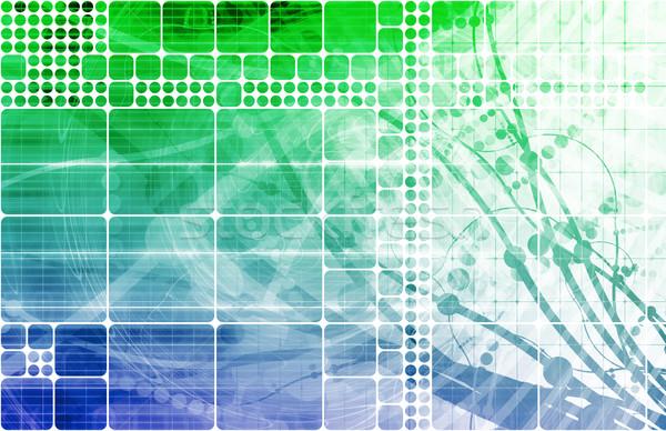 Sanitaria scienza industria abstract creativo Foto d'archivio © kentoh