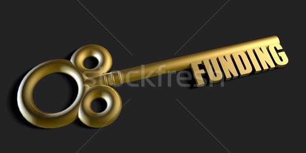 Key To Your Funding Stock photo © kentoh