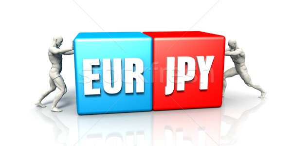 EUR JPY Currency Pair Stock photo © kentoh