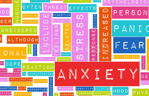 Anxiety Stock photo © kentoh