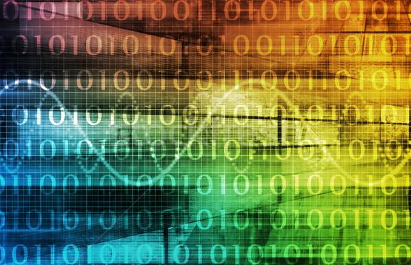 Telekommunikáció ipar globális hálózat világ háló Stock fotó © kentoh