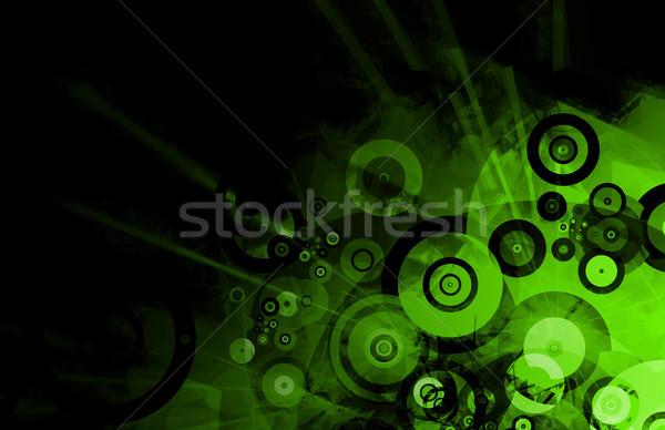 Grunge zene színes effektek művészet tánc Stock fotó © kentoh