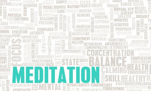 Meditation Stock photo © kentoh