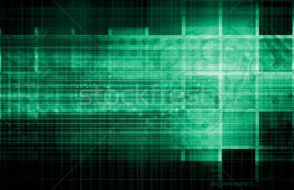 связь мобильных данные сетке бизнеса работу Сток-фото © kentoh