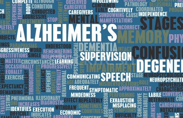 Alzheimer's Stock photo © kentoh