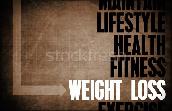 Weight Loss Stock photo © kentoh