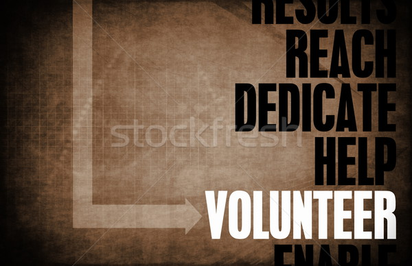 Volunteer Stock photo © kentoh