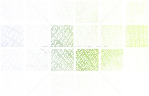 Bináris adat folyam nyilak digitális absztrakt Stock fotó © kentoh