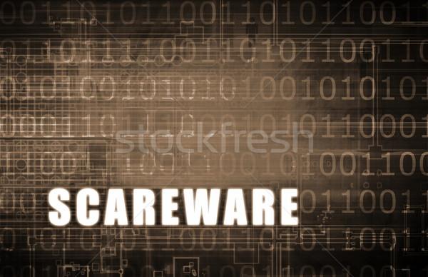Scareware Stock photo © kentoh