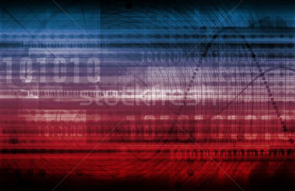 Database server beheer centraal technologie computers Stockfoto © kentoh