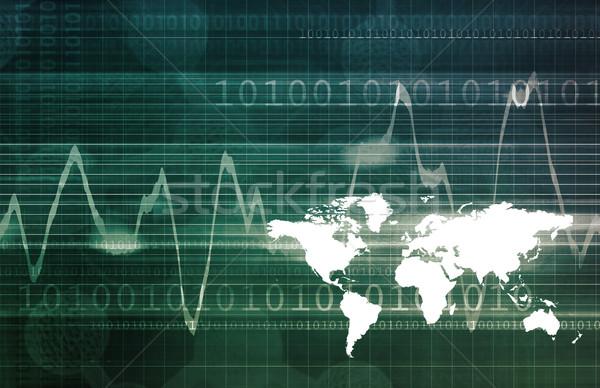 Globalização abrir mercado economia globo mundo Foto stock © kentoh