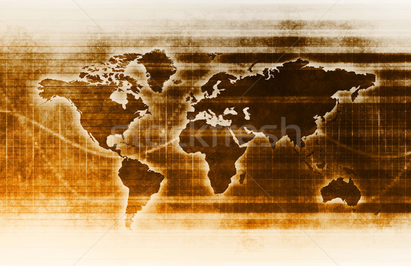 Internet snel bewegende gegevens info Stockfoto © kentoh