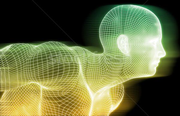 デジタル 倫理 技術 人 を 業界 ストックフォト © kentoh