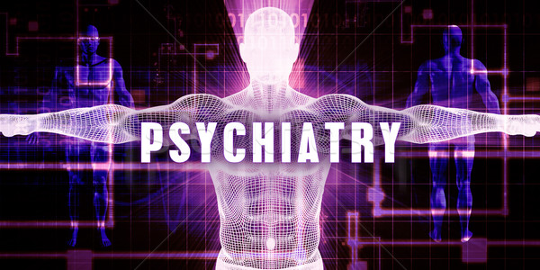 Psychiatry Stock photo © kentoh