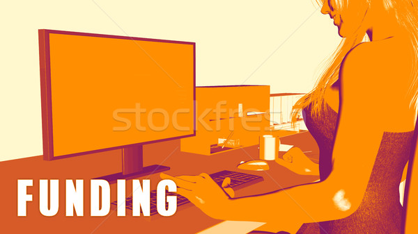 Funding Concept Course Stock photo © kentoh
