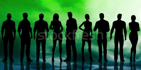 Empowered People Stock photo © kentoh