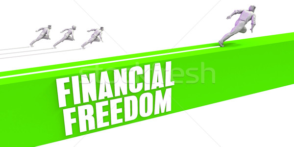 Financial Freedom Stock photo © kentoh